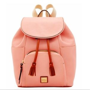Dooney & Burke Pale Pink Small Murphy Backpack NWT